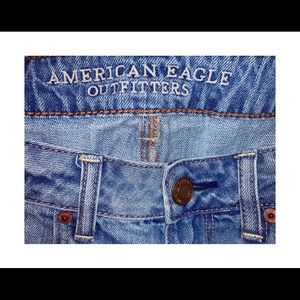 American Eagle Outfitters Shorts - AE denim shorts with distressing, size 8!